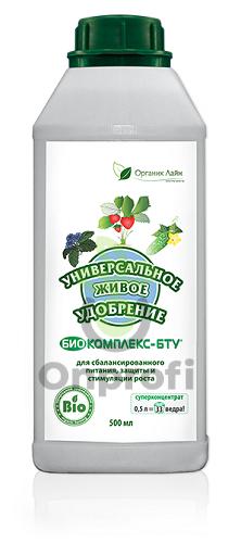 Фунгицид Биокомплекс-БТУ (универсальное живое удобрение), 100мл